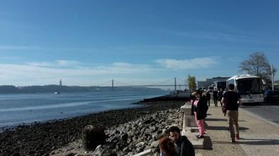 View in lisbon city centre