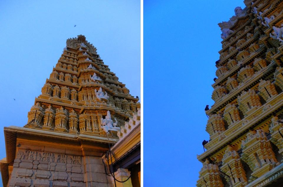 Mysore temple montage