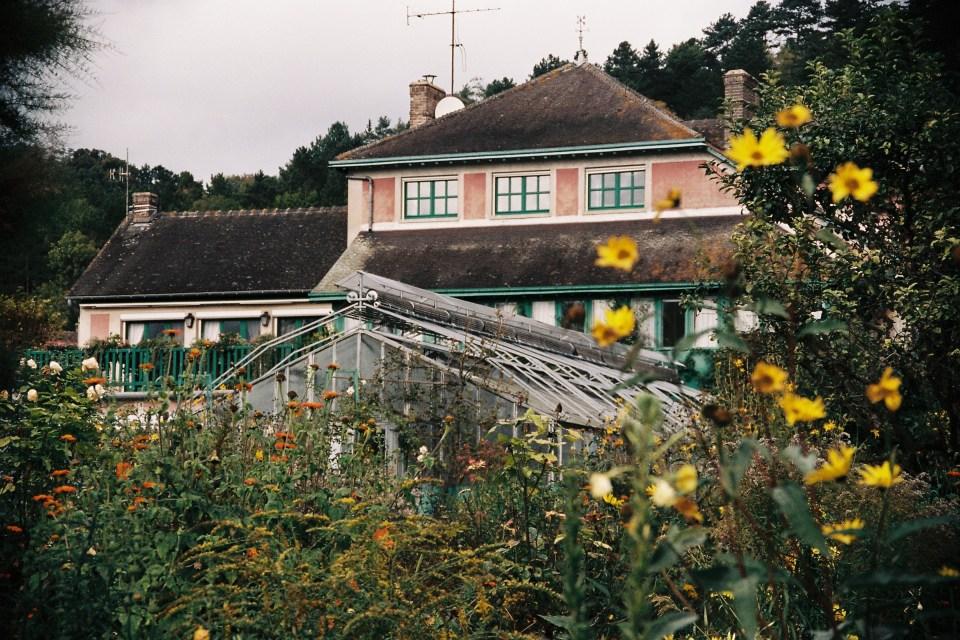 Giverny maison jardins claude monet