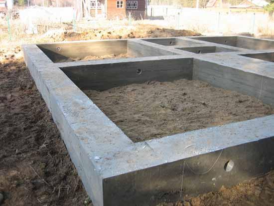 ленточный фундамент в Туле под ключ цена, фундамент для дома под ключ, Тула, Тульская область, Алексин, Алексинский район