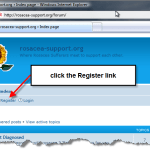 new rosacea support forum: how to post