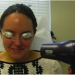 Using a Hair Dryer to Pre-Flush before Pulse Dye Laser Treatment