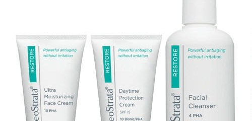 NeoStrata Facial Cleanser and Ultra Moisturizing Face Cream