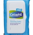 Cetaphil Gentle Skin Cleansing Wipes, no rinsing needed