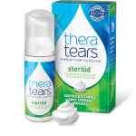 TheraTears Sterilid eyelid scrubs with tea tree oil