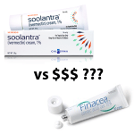 Soolantra more expensive than Finacea, but better, apparently