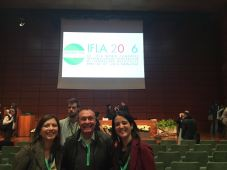 Rosa Chandia-Jaure; Pietro Laureano y Elena Albareda-Fernandez