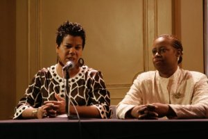 Rosa Clemente and Cynthia McKinney