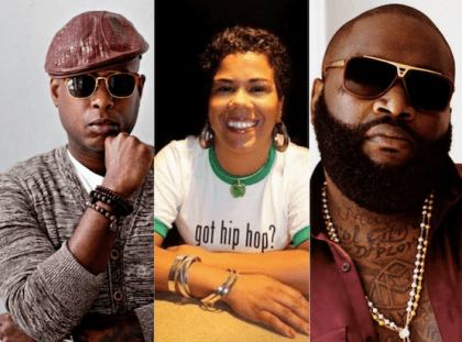 Talib Kweli and Rosa Clemente on Rick Ross
