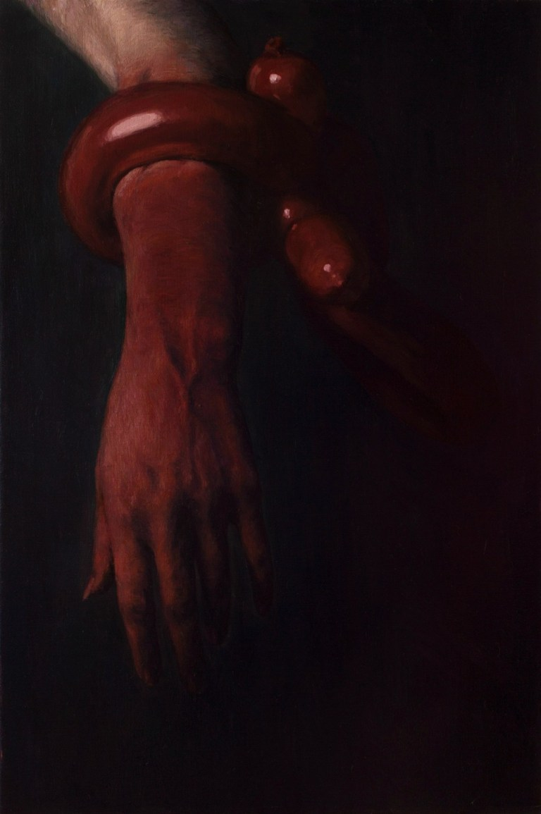 holding on painting by aleksandr devic