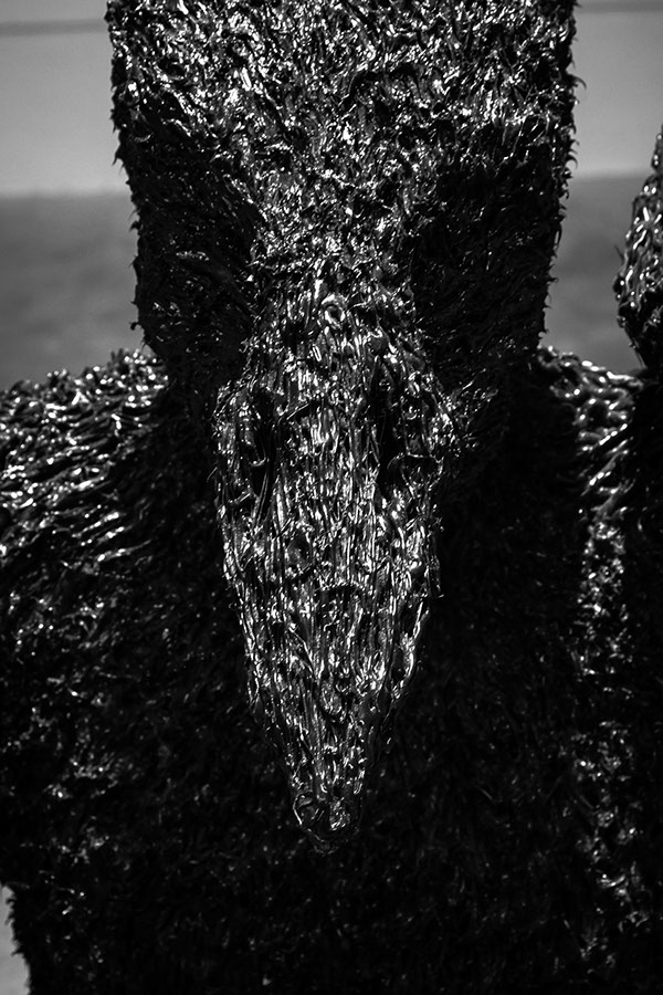 artist rook floro anxiety sculpture