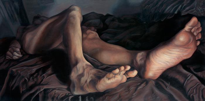 katy wiedemann painting lover in repose