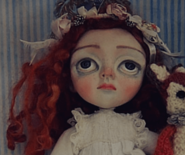 Redhaired Doll by Sam Crow