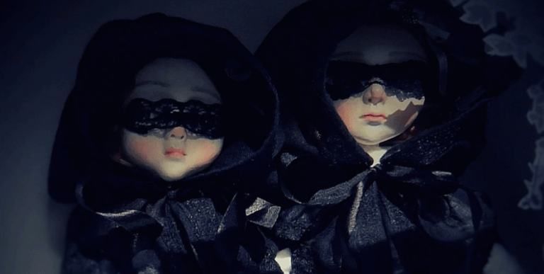 Sam Crow Dolls in Black