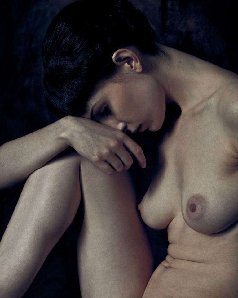 james-hall-nude-study-seated