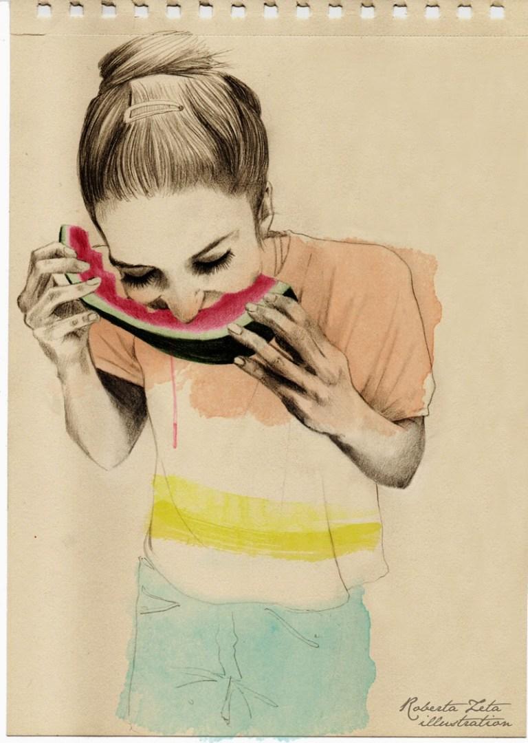 Watermelon by RobertaZeta