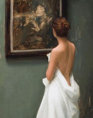 Aaron Westerberg Painting Admiration Detail