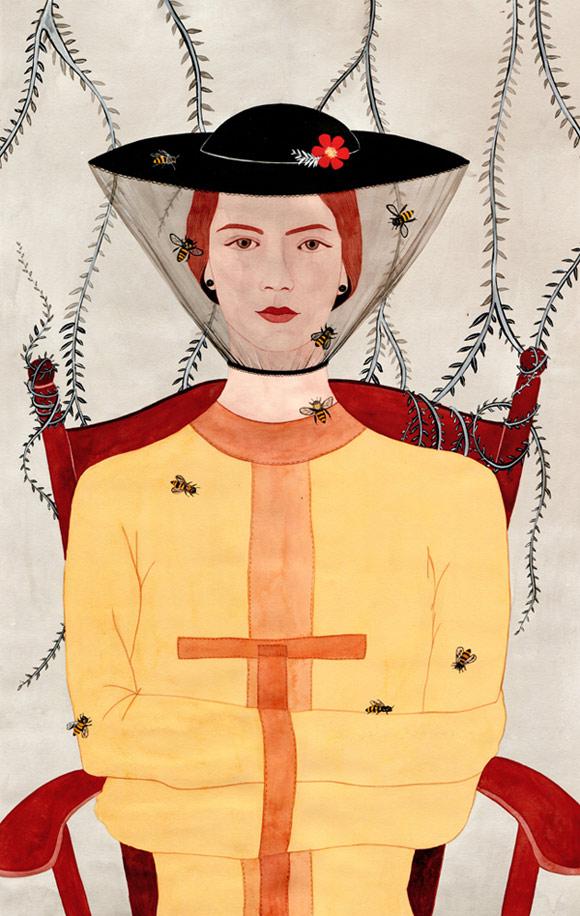 Feminist-Art, Chilean-Artist, Illustration, Muralist, Women-Artists, Contemporary-Art
