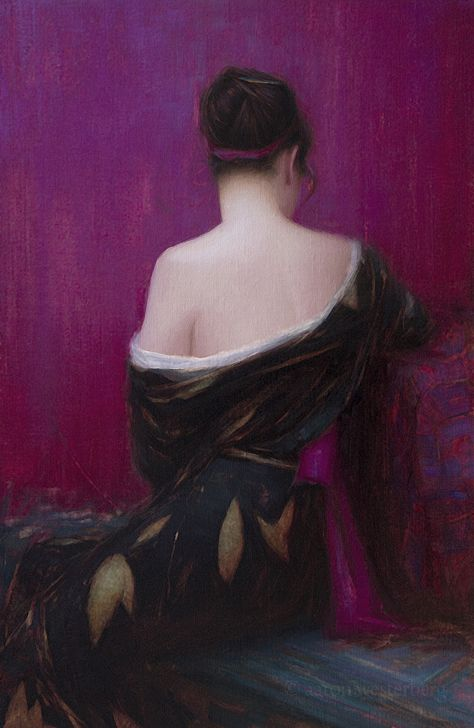 Painting by Aaron Westerberg