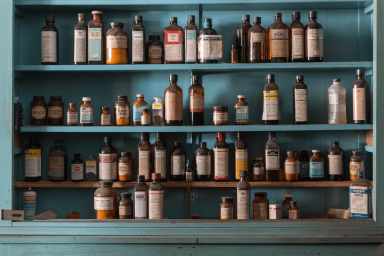 Vintage-Pharmacy, Still-Life, Bryan-Sansivero-Photographer, Contemporary-Art, Contemporary-Photography, American-Art, Modern-Art, Art, Ruin, Abandoned, Beautiful-Photo, New-Art