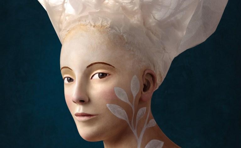 Portrait, Art, Bust, Sculpture, Irma-Gruenholz