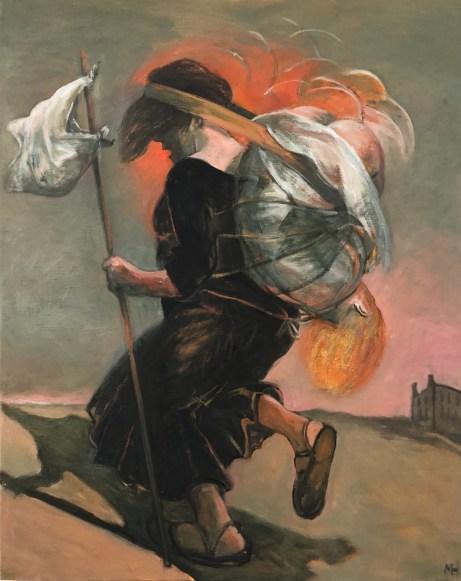 Traveler, Fine-Art, New-Art, Modern-Art, Painting, Traveller, Oil-Painting, peinture, Kunst, Kunstler