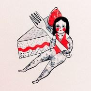 sonia-lazo-zine-cake
