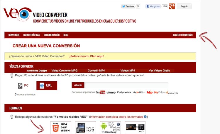 Captura de pantalla Veo Video Converter