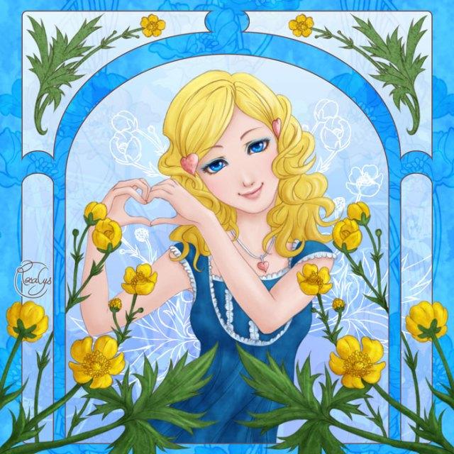 Language of flowers - Bouton d'or, heureux d'aimer