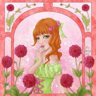 Language of flowers - Dahlia, reconnaissance amoureuse
