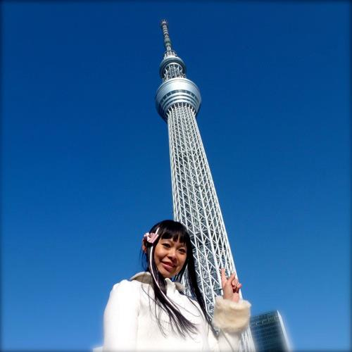 "東京スカイツリーはすごいです *o* The amazing Tôkyô Sky Tree ""a new symbol of the city, fusing traditional and cutting-edge Japanese technology"""