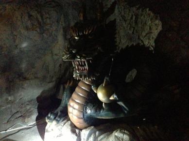 Le dragon d'Enoshima Iwaya Cave