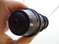Caleidoscopio realizado con cápsulas de café Dolce Gusto Reciicladas. Rosa Montesa