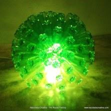 Lámpara realizada con botellas de agua . Reciclado Creativo