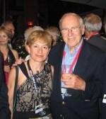 Con Jim Lovell, en Starmus