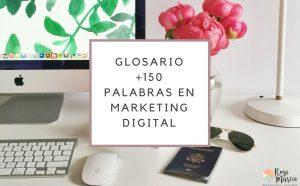 glosario palabras usadas en marketing digital