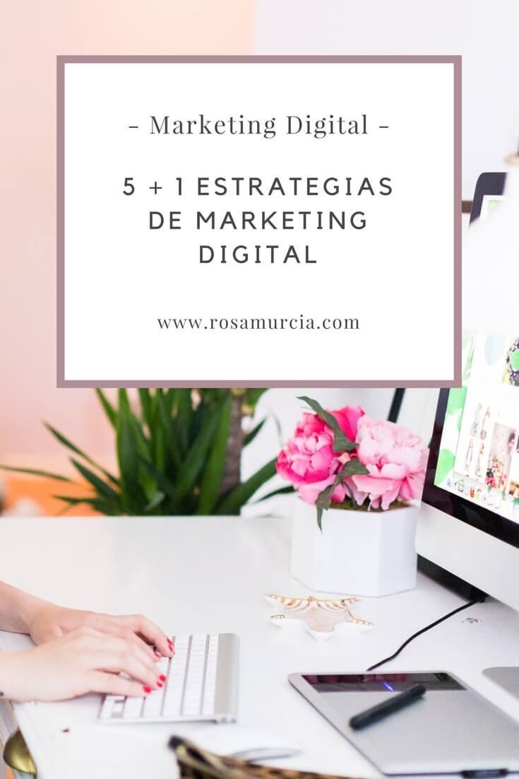 estrategias en marketing digital español