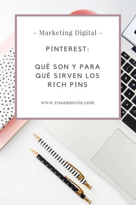 pinterest rich pins estrategia