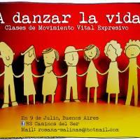 """Clases de Movimiento Vital Expresivo """"Sistema Rio Abierto"""""""