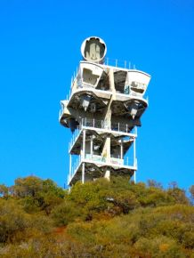 I don't know what this. Cold War era tower?