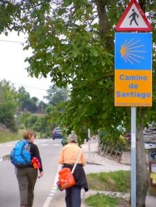 Along the Camino to Santiago in May