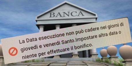 Strana religiosità bancaria