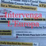 Intervenga l'Europa