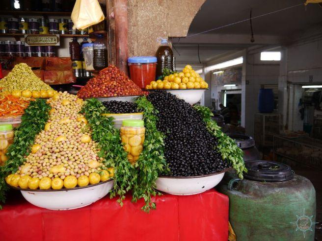 Auf dem Souk von Agadir