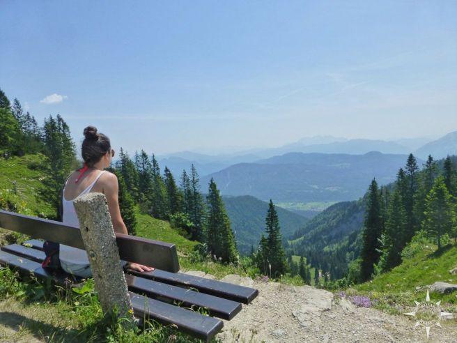 Alpenausblick