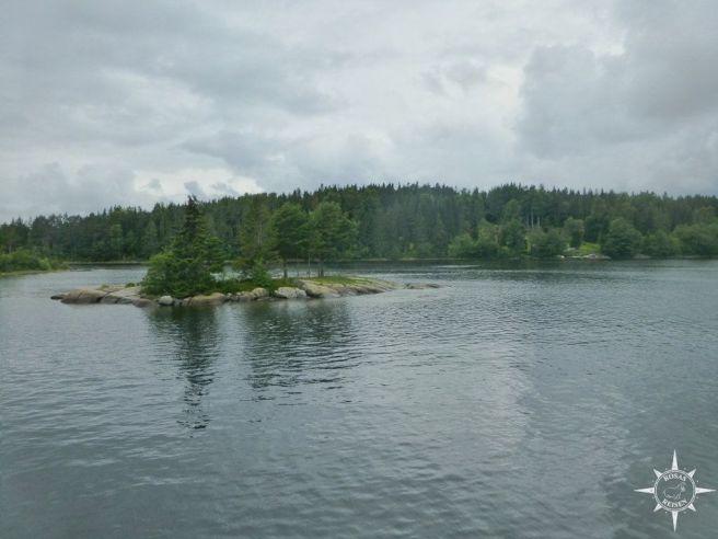Mini-Insel bei Ülvon