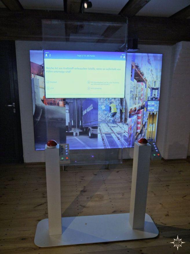Buzzerquiz im Schifffahrtmuseum