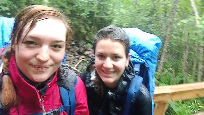 Auf dem Weg zum Skuleberget