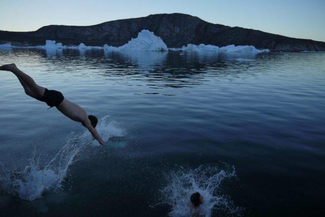 Baden im Polarmeer