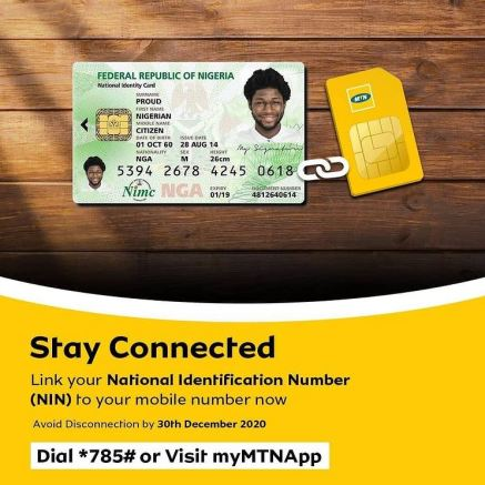 How to Link Your SIM With NIN (National Identification Number)